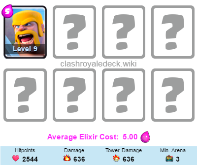 Best Clash Royale Decks With Barbarians