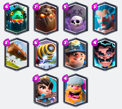 All Legendary Cards In Clash Royale Best Legendary Cards