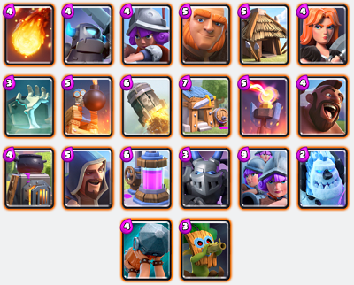 Clash Royale all Rare Cards